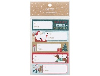 Officeworks Otto Christmas To/From Sticker 50 Pack