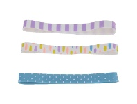 Officeworks Otto Rubber File Bands Assorted 3 Pack