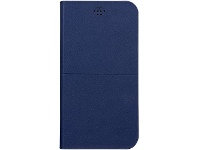 Officeworks Otto Slim Leather Wallet iPhone Universal Navy