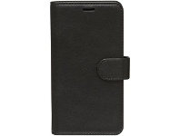 Otto Leather Wallet Case for iPhone XR Black