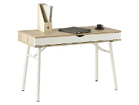 Officeworks Otto Willow 1 Drawer Semi Assembled 1150mm Desk