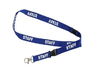 Officeworks Rexel Pre-Printed Staff Lanyard 5 Pack