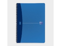 Officeworks Oxford Urban A4 100 Page Notebook Metallic Blue