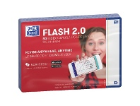 Officeworks Oxford Flash 2.0 Index Cards Blank 105 x 148mm Navy 80 Pack