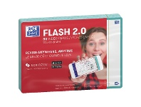 Officeworks Oxford Flash 2.0 Index Cards Blank 105 x 148mm Mint 80 Pack