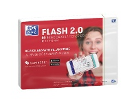 Officeworks Oxford Flash 2.0 Index Cards Blank 105 x 148mm White 80 Pack