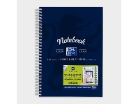 Officeworks Oxford B5 Notebook 120 Pages with Scribzee App Navy