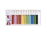 Officeworks Artline 300 Liquid Crayons Assorted 12 Pack