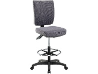 Pago Flash High Back Drafting Chair Charcoal
