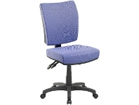 Officeworks Pago Flash II Deluxe Heavy-Duty Ergonomic Chair Violet