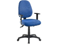 Pago Matrix II Plus Heavy-Duty Ergonomic Chair Arms Royal Navy