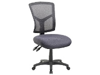 Officeworks Pago Matrix Ergonomic Heavy Duty High Back Chair Charcoal