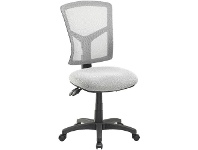 Officeworks Pago Matrix Ergonomic Heavy Duty High Back Chair Pearl