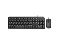 Officeworks Philips SPT6212B Wired Keyboard and Mouse Combo