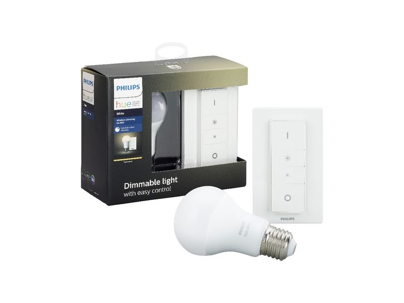 Philips Hue Wireless Dimming Kit with A60 E27 Bulb