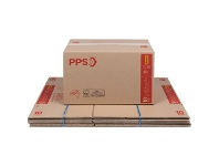 Officeworks PPS Moving Boxes 450 x 300 x 295mm 10 Pack