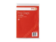 Officeworks PPS Poly Bags 150 x 230mm 100 Pack