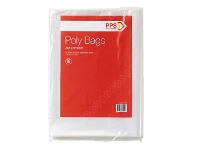 Officeworks PPS Poly Bags 350 x 510mm 50 Pack