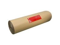 Officeworks PPS Kraft Paper Roll 600mm x 340m Brown