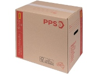 Officeworks PPS Moving Box Medium with Handles 406 x 298 x 431mm