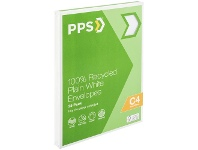 Officeworks PPS Recycled PPS C4 Plain Faced 100% Recycled Envelopes 25 Pack