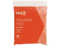 Officeworks PPS 130 x 200mm Resealable Bags 50 Pack