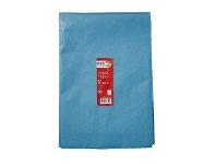 Officeworks PPS Tissue Paper 500 x 750mm 100 Pack Blue