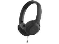 Officeworks Philips On-Ear Headphones with Microphone Black