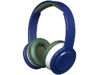 Officeworks Otto Kids Wireless Volume Limited Headphones Blue/Green