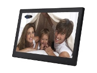 "Officeworks QPIX 10"" Digital Photo Frame Full Function Black"