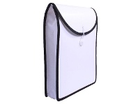 Officeworks J.Burrows Top Load Attache File A4 White