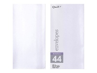Officeworks Quill DL Envelopes Metallique Quartz 10 Pack