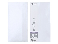 Officeworks Quill DL Envelopes Metallique Peridot 10 Pack