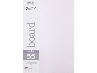 Officeworks Quill A4 285gsm Metallique Board Pearl 25 Pack