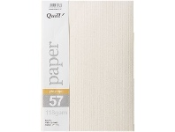Officeworks Quill A4 118gsm Pinstripe Paper Ivory 25 Pack