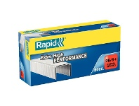 Officeworks Rapid Strong Staples 26/6mm 5000 Pack