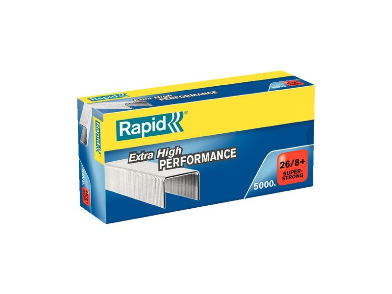 Rapid Strong Staples 26/6mm 5000 Pack