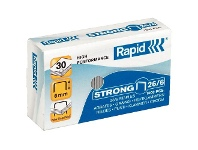 Officeworks Rapid 26/6 Strong Staples 1000 Pack