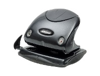 Officeworks Rexel P215 2 Hole Punch Small Black