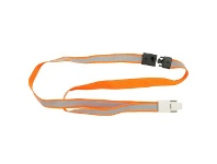 Officeworks Rexel Reflective High Visibility Lanyards 5 Pack