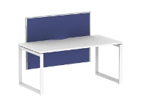 Officeworks Stilford S2 1500x750mm Desk with 1200x900mm Screen