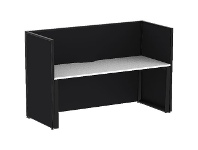 Officeworks Stilford S2 1800x750mm Desk with Screens