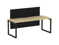 Officeworks Stilford S2 1800x750mm Desk with 1500x900mm Screen