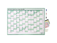 Officeworks Sasco FY21/22 Green Wall Planner 700x500mm