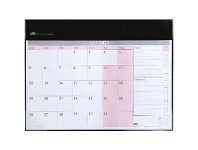 Officeworks Sasco FY21/22 Deluxe Monthly Desk Planner