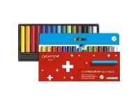 Officeworks Caran d'Ache Swisscolour Water Soluble Wax Pastels 15 Pack