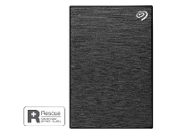 Officeworks Seagate One Touch Portable Hard Drive 1TB Black