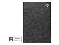Officeworks Seagate One Touch Portable Hard Drive 2TB Black