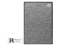 Officeworks Seagate One Touch Portable Hard Drive 4TB Grey