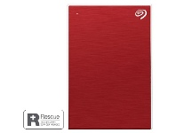 Officeworks Seagate One Touch Portable Hard Drive 4TB Red